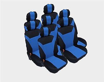 A1 2er vordere Sitzbez/üge Schonbez/üge Blau Hochwertig Polyester