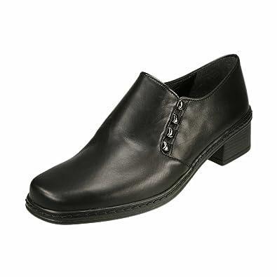 GaborCtas Speciality - Mocasines Mujer, Color Negro, Talla 35: Amazon.es: Zapatos y complementos