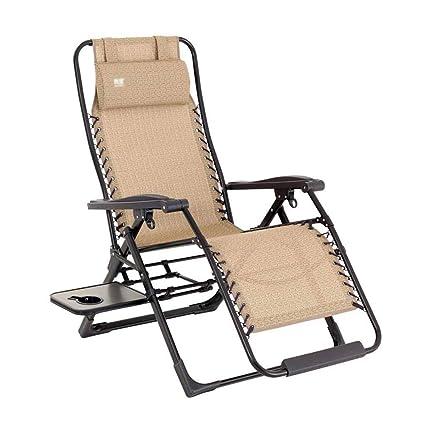 Swell Amazon Com Dhmhjh Folding Recliner Zero Gravity Recliner Machost Co Dining Chair Design Ideas Machostcouk