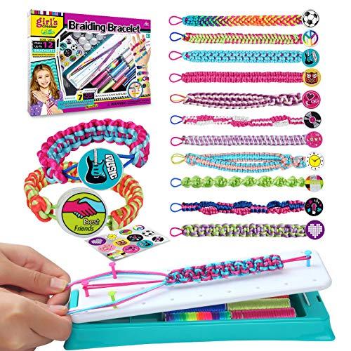 GILI Friendship Bracelet Making Kit for Girls, DIY Craft Kits Toys for 8-10 Years Old Jewelry Maker Kids. Favored…