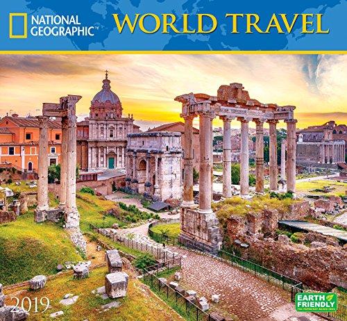 National Geographic World Travel 2019 Wall Calendar ()