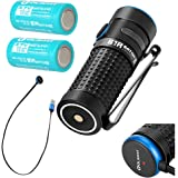 2 batteries bundle Olight S1R II Baton Generation II 1000 Lumen Compact Rechargeable LED Flashlight with two customized IMR16340 Battery, Magnetic Charging Cable (MCC II) and LegionArms Sticker