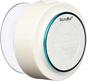 SoundBot SB517 IPX7 Water-Proof Bluetooth Speaker (Blue/White)