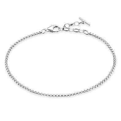 0c0082524a Thomas Sabo Damen-Armband Glam & Soul klassisch 925 Sterling Silber Länge  von 16.5 bis
