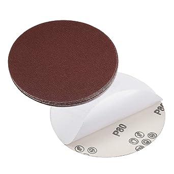 "6/"" Stick on psa Sanding Discs 150 Grit 10PCS Autobody"