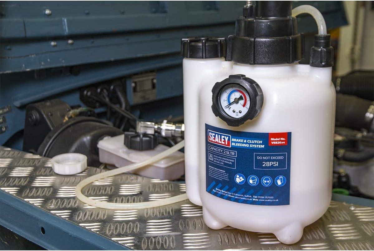 Sealey Vs820 Bremsen Und Kupplungsentlüftungssystem Auto