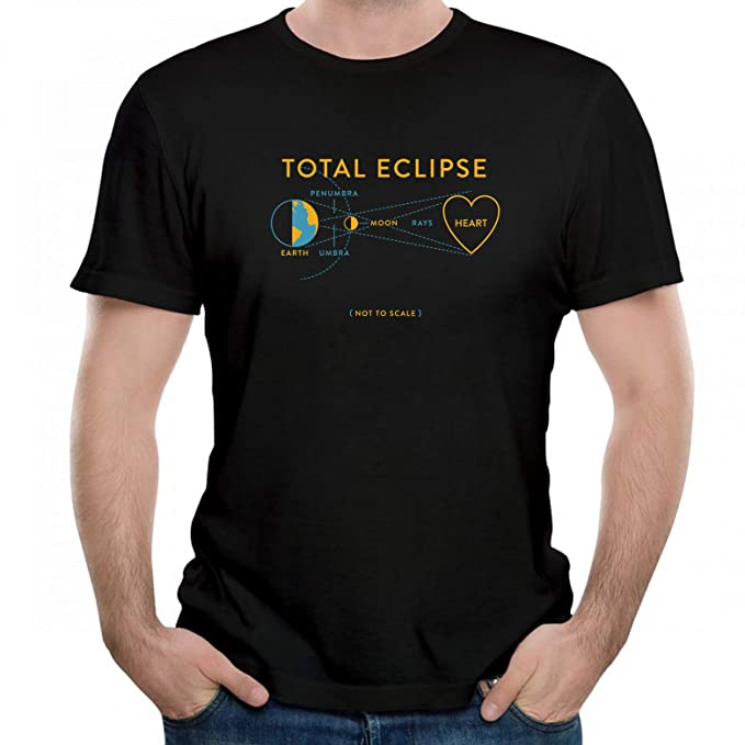 82180bee5d7 Amazon.com  Total Eclipse of The Heart Graphic Men T Shirt Short ...