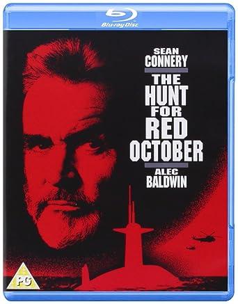 Amazon Com The Hunt For Red October Blu Ray 1990 Region Free Sean Connery Alec Baldwin Scott Glenn Movies Tv