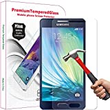 Galaxy A5 Screen Protector, PThink® Tempered Glass Screen Protector for Samsung Galaxy A5 (2015 Version) with 9H Hardness/Anti-scratch/Fingerprint resistant