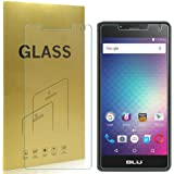 [2-Pack] Blu R1 HD Tempered Glass Screen Protector,Lifetime Replacement Warranty
