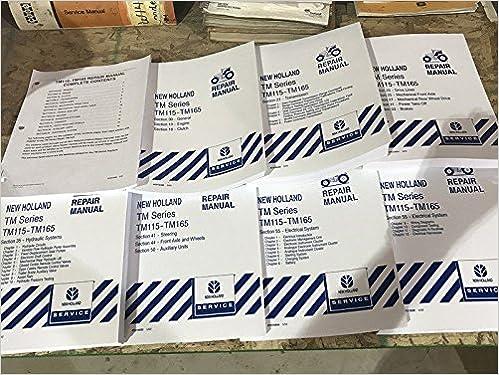 New Holland Tm Series Tm115 Tm125 Tm135 Tm150 Tm165 Tractor Service Manual Ford New Holland 7426844819838 Amazon Com Books