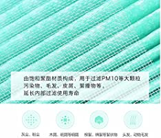 Louu Xiaomi Mi Sustitución Purificador de Aire 2 Filtro de Aire Más Limpio del Filtro Inteligente Purificador de Aire Core Remoción Formaldehído HCHO Versión: Amazon.es: Hogar