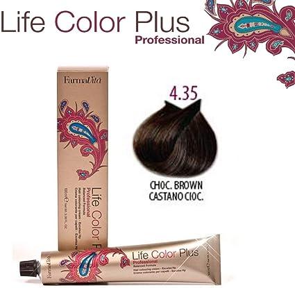 FarmaVita Life Color Plus Tinte Capilar 4.35-90 ml (8022033007490)