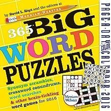 365 Big Word Puzzles Color Page-A-Day Calendar 2016
