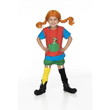 c6d2e67997309 Unbekannt Pippi Calzelunghe - Costume  Amazon.it  Giochi e giocattoli