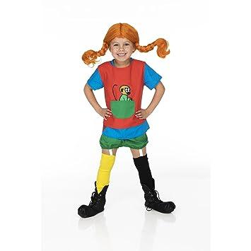 Unbekannt Pippi Langstrumpf 44 – 3779 – 00 – Disfraz, 4 – 6 años,