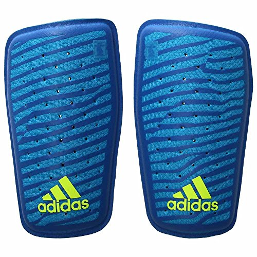 adidas Performance X Climacool Shin Guard, Solar Blue/Blue/Solar Yellow, Large ()