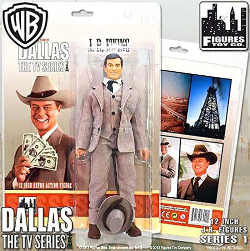 Dallas J.R. Ewing Oil Tycoon 12-Inch Action Figure [Toy]