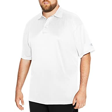 cb723f9f4 Amazon.com: Champion Mens Big & Tall Short-Sleeve Polo (CH407): Clothing