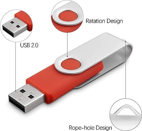 100X 1GB-16GB Memory Sticks Thumb PenDrives USB Flash Drives Enough Storage