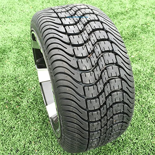 ARISUN 215/35-12 DOT Low Profile Golf Cart Tires - Set of 4 (Low Profile Tires For 18 Inch Rims)