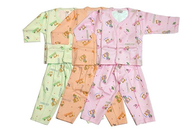 9ce361da0f1b NATKHAT Cotton New Born Baby Kids Wear Complet Set Pack of 3 Infant ...