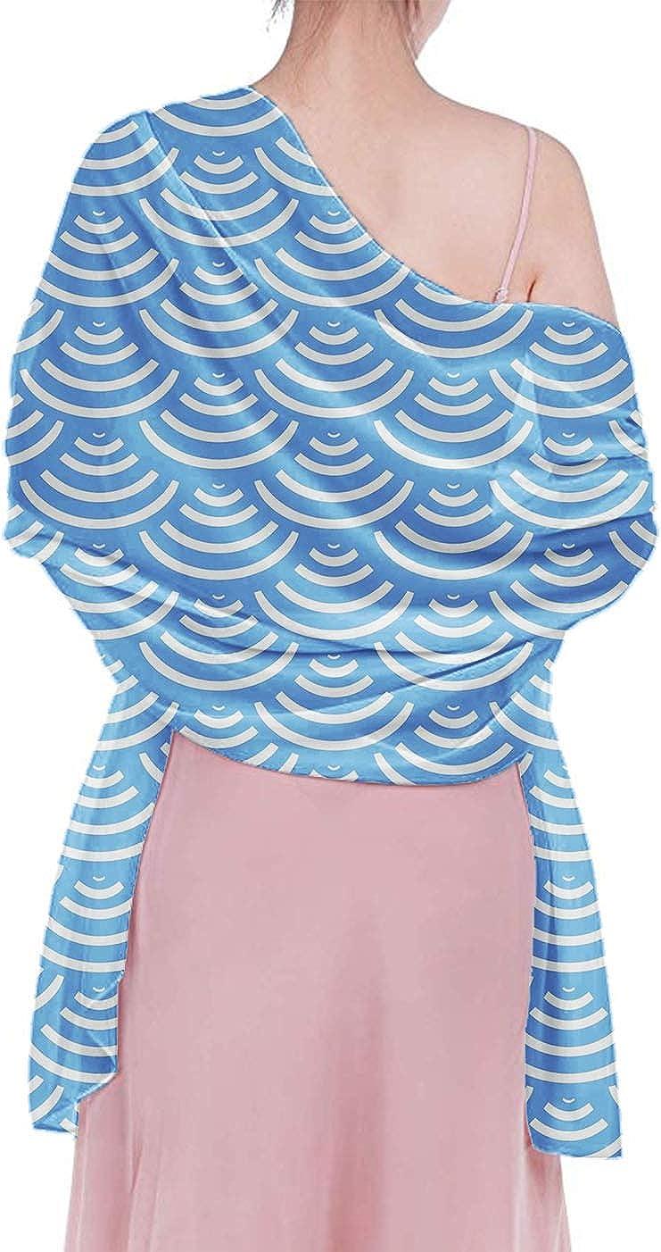 Long Head Wraps Girls Stylish Headbands Shawls Breathable Chiffon Neck Scarf