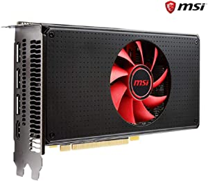 2019 MSI Radeon RX 580 DirectX 12 Radeon RX 580 8G V1 8GB 256-Bit GDDR5 PCI Express x16 HDCP Ready CrossFireX Support Video Card