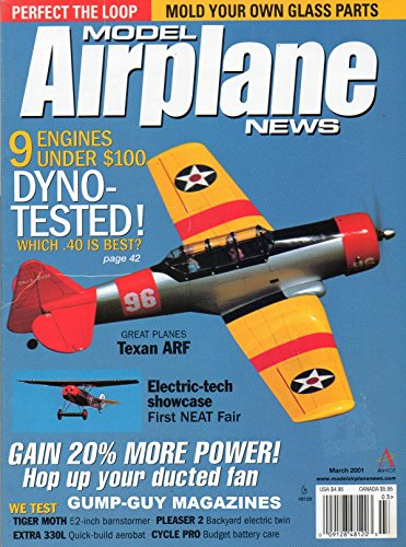 Model Airplane News March 2001