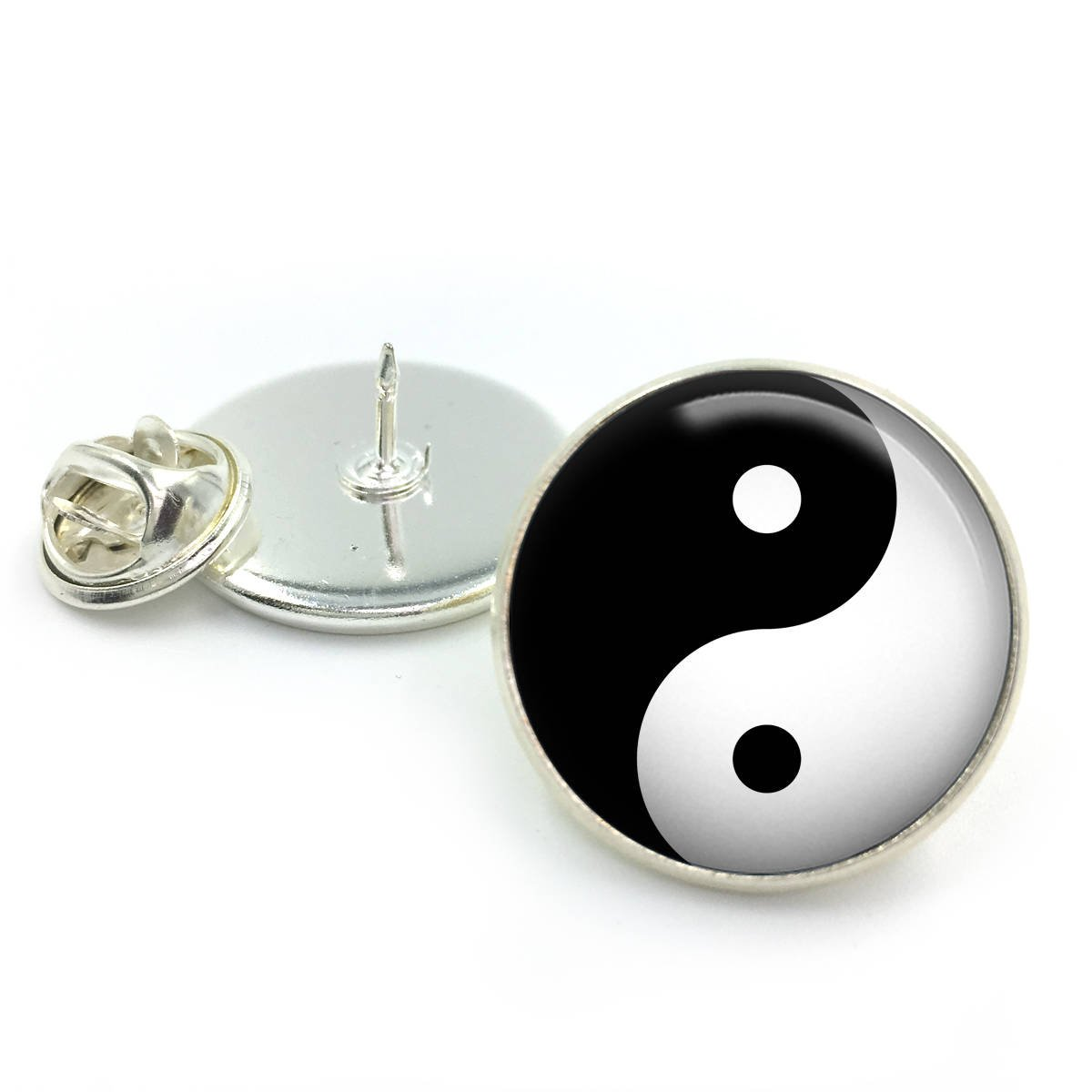 Yin-Yang Lapel Pin Badge| lapel| Gift for him| yin-yang| yin| Gift| gift for him| pin badge ButterflyNBeez
