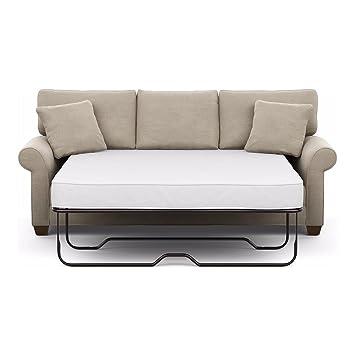 Ethan Allen Bennett Roll Arm Sofa, Quick Ship, 86u0026quot; Sleeper, Palmer