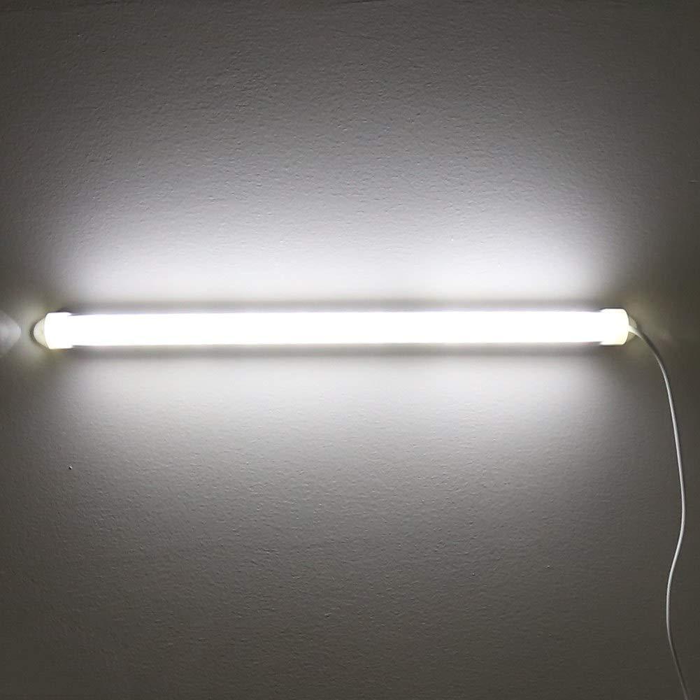 Jadpes L/ámpara USB L/ámpara de Tubo LED USB port/átil Ajustable de 5V Bombilla de luz Blanca con Interruptor para Dormitorio Hogar Sala de Estar Iluminaci/ón de Dormitorio #1