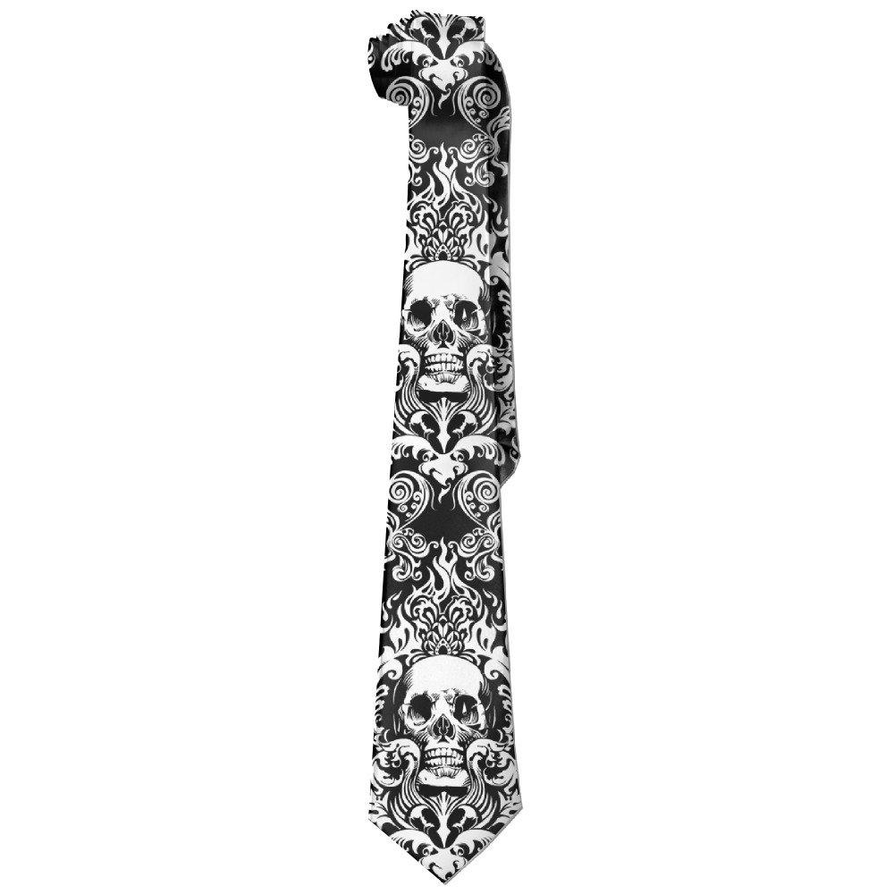 Men's Vintage Skull Necktie Ties