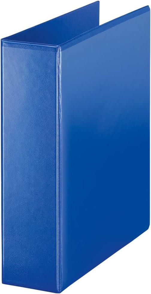 Esselte Pr/äsentationsordner 4/D-Ringe 60/mm A4 blau