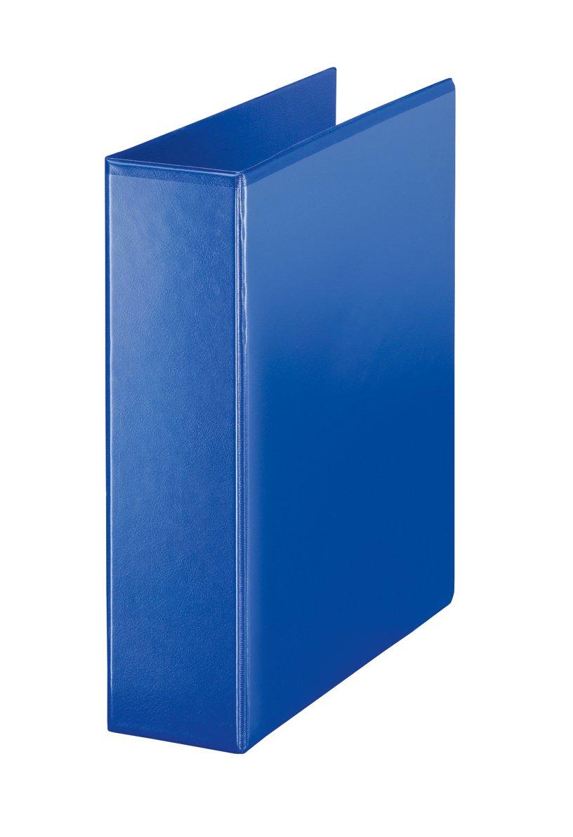 Esselte - Archivador de 4 anillas en D (A4, 60 mm), color azul: Amazon.es: Oficina y papelería