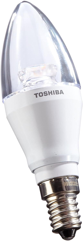 Toshiba LDCC0627CE4EUC - Bombilla vela LED (E14, 6 W ...