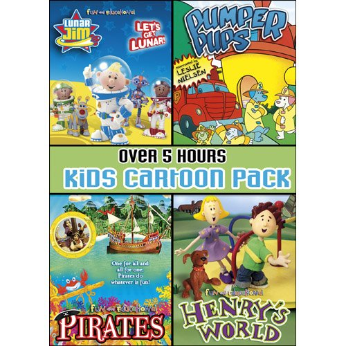 Kids Cartoon Pack Collector's (Kids Vhs)