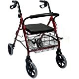 KosmoCare Rollator Walker with Seat