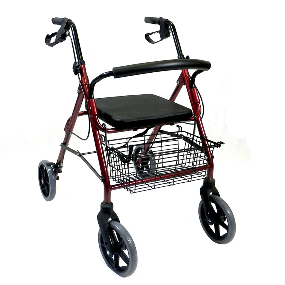 buy kosmocare rollator walker with seat online at low prices in