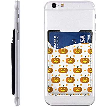 Lindo tarjetero para Halloween para teléfono, soporte para ...