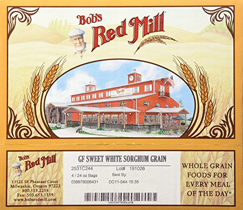 (Bob's Red Mill Whole Grain Sorghum, 24 Oz (Pack of 4) )