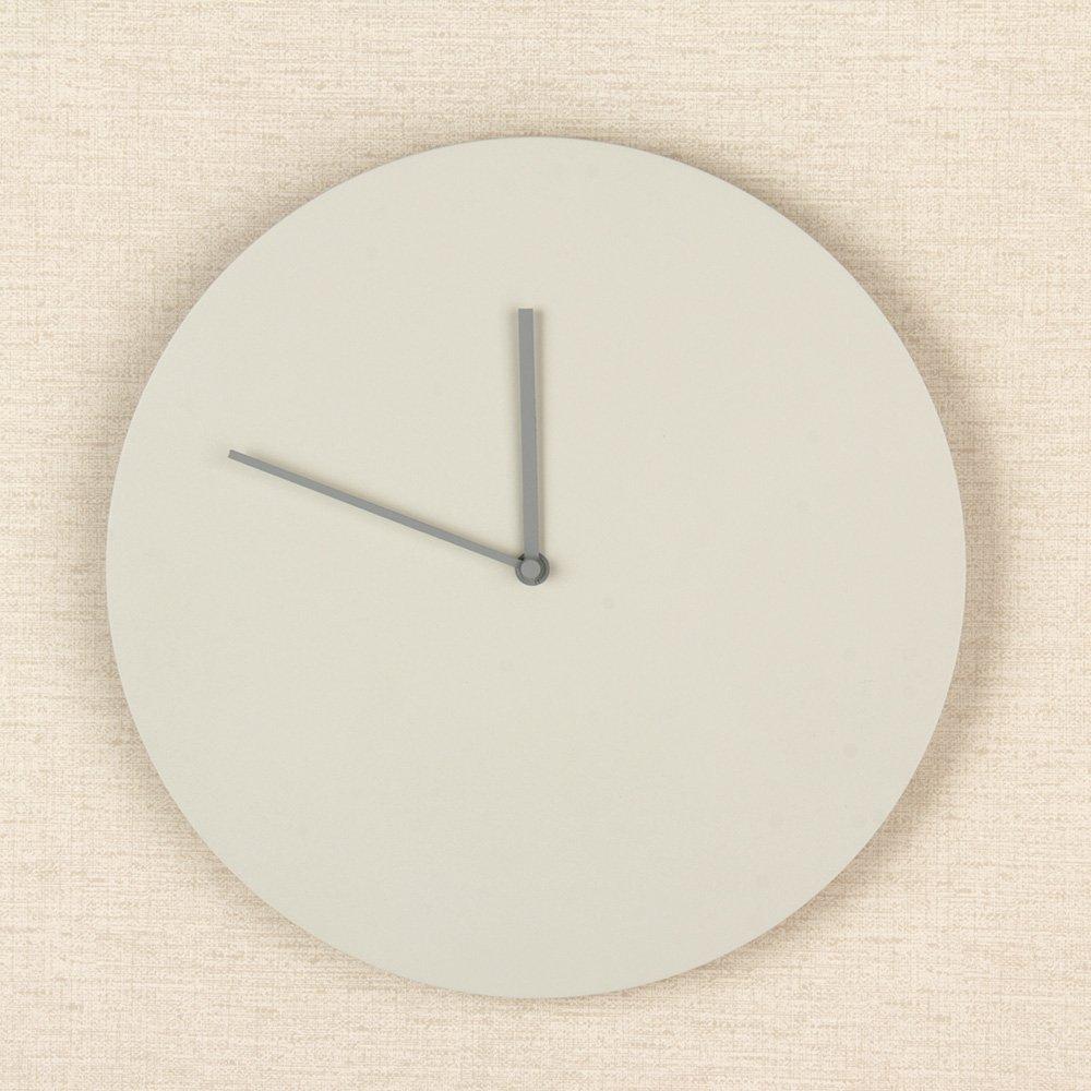 MENU [ メニュー ] Steel Wall Clock スチールウォールクロック wall clock ウォールクロック ライトグレー 6066139 壁時計 インテリア デザイン [並行輸入品] B01CFKIUFOライトグレー