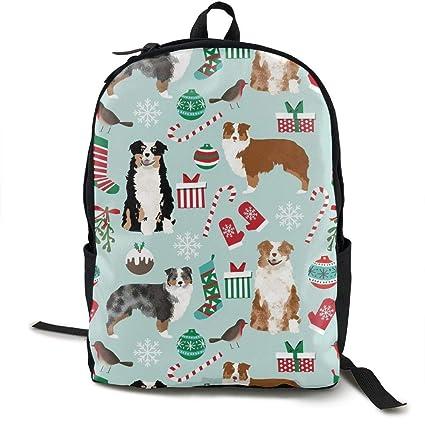 1e4b6d33f259 Amazon.com: Wialis8-id Australian Shepherd Christmas Cute Aussie ...