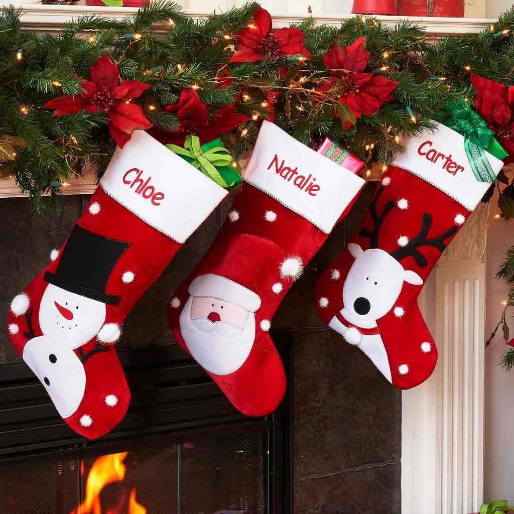 DIBSIES Personalization Station Personalizado Jumbo calcetín de Navidad,  Rojo, Custom: Amazon.es: Hogar