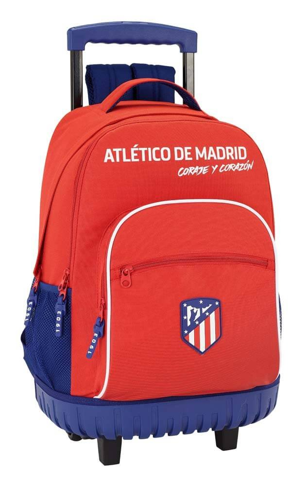 Atletico de Madrid Coraje Official Large School Backpack with wheels