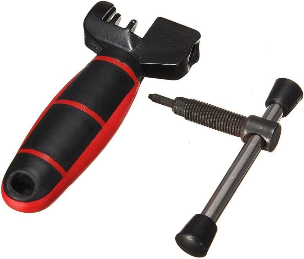 1P Bike Bicycle Cycle Chain Pin Remover Link Breaker Splitter Extractor Tool Kit