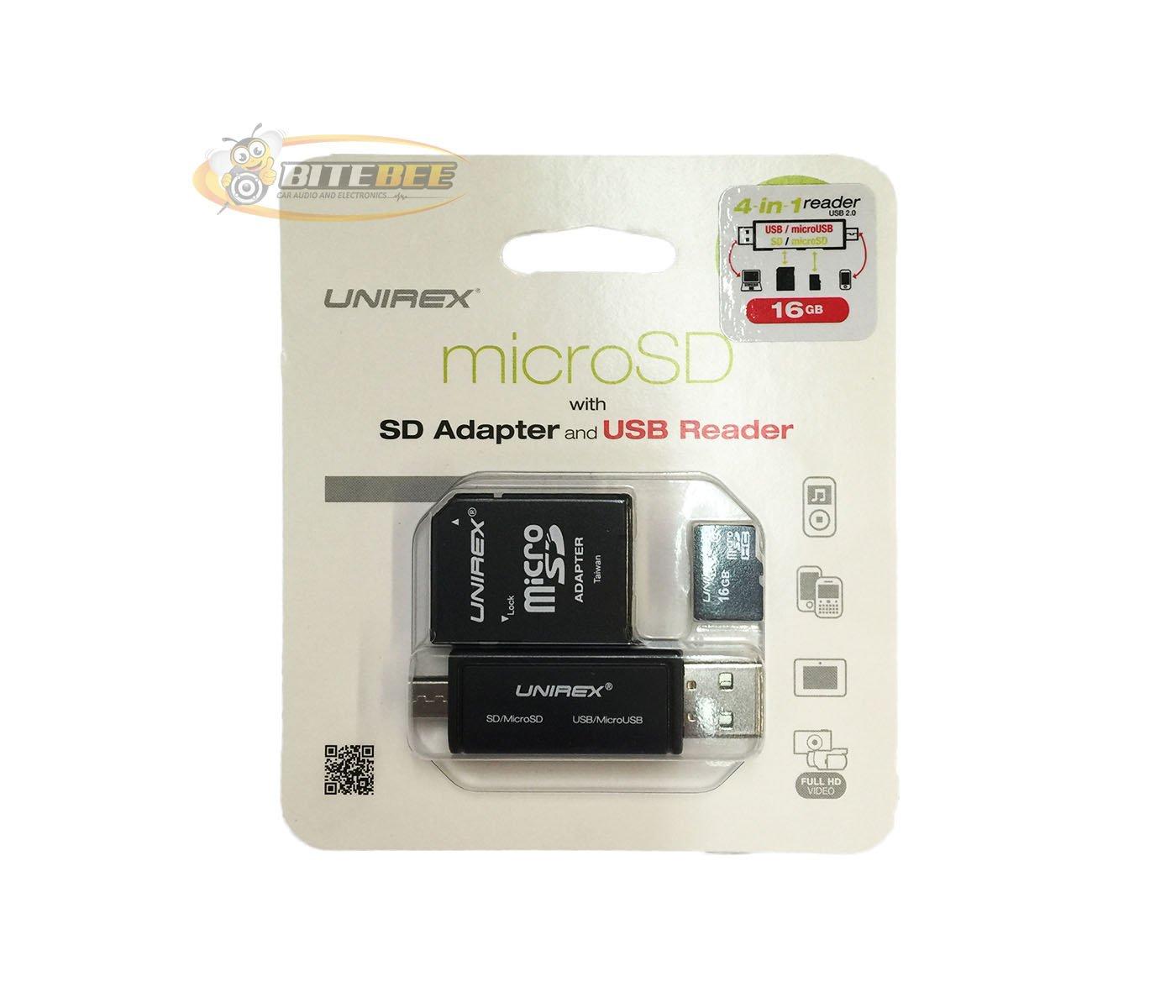 Amazon.com: Unirex MSW-165S 16GB UHS-1 Class 10 Micro SD ...