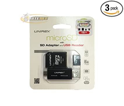Amazon.com: Unirex MSW-165S 16GB UHS-1 Class 10 Micro SD ...