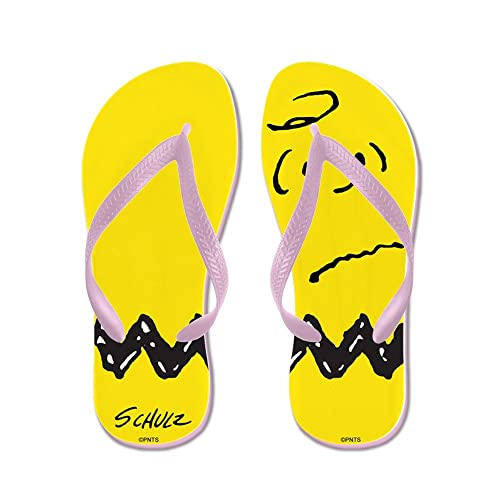 dc0441a908b68f Image Unavailable. Image not available for. Color  CafePress - Zig Zag - Flip  Flops
