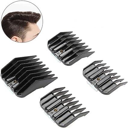 Limit peine, guía de pelo accesorio peines de pelo Clipper Limit peine Set eléctrico cortador de pelo afeitadora Salon peluquería herramientas de estilo: Amazon.es ...